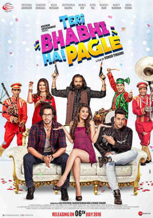 Teri Bhabhi Hai Pagle 2018 HDRip 350Mb Hindi 480p Watch Online Free Download bolly4u