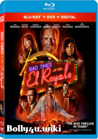 Bad Times At The El Royale 2018 BRRip 450MB Hindi Dual Audio ORG 480p ESub Watch Online Full Movie Download bolly4u