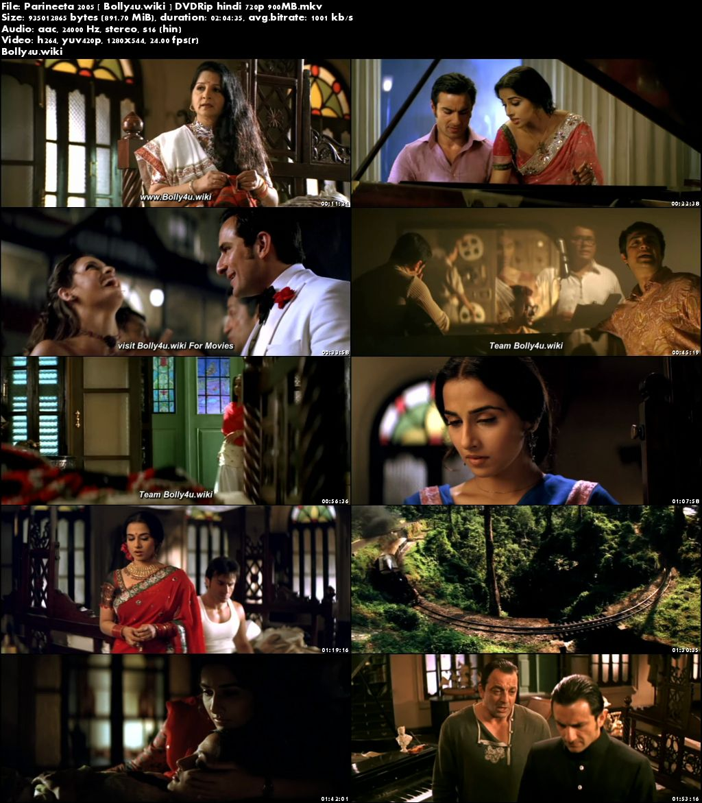 Parineeta 2005 DVDRip 350Mb Full Hindi Movie Download 480p