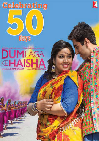 Dum Laga Ke Haisha 2015 BluRay 350Mb Full Hindi Movie Download 480p Watch Online free bolly4u