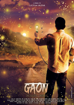 Gaon 2018 HDTV 350MB Full Hindi Movie Download 480p Watch Online Free bolly4u