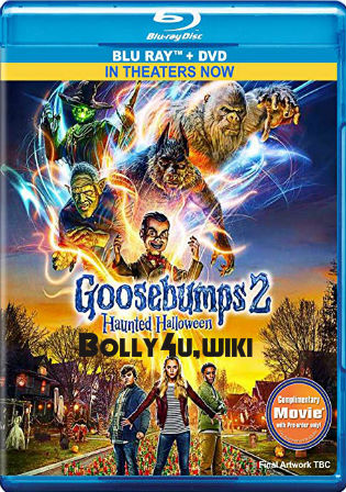 Goosebumps 2 Haunted Halloween 2018 BRRip 300Mb Hindi Dual Audio 480p Watch Online Full Movie Download bolly4u