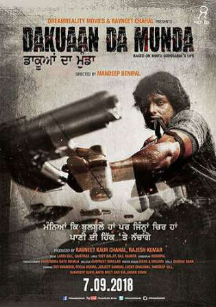 Dakuaan Da Munda 2018 HDRip 950Mb Punjabi 720p Watch Online Full Movie Download bolly4u