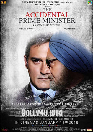 The Accidental Prime Minister 2019 Pre DVDRip 300MB Hindi 480p