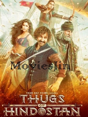 Thugs of Hindostan 2018 300MB BluRay Movie Download 480p Esub
