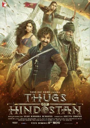Thugs of Hindostan 2018 Hindi 500Mb BluRay full Movie Download bolly4u