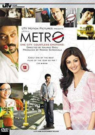 Life In A Metro 2007 HDRip 350Mb Hindi 480p Watch Online Full Movie Download bolly4u