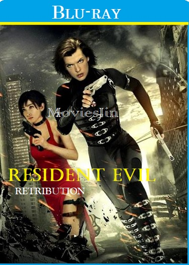 Watch Online Resident Evil Retribution 2012 300MB Film Hindi BluRay Dual Audio 480p Full Movie Download 300mbMovies