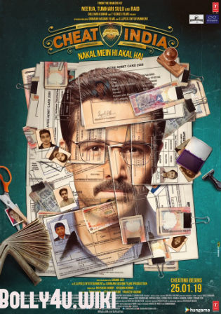 Why Cheat India 2019 Pre DVDRip 350Mb Full Hindi Movie Download 480p Watch Online Free Bolly4u
