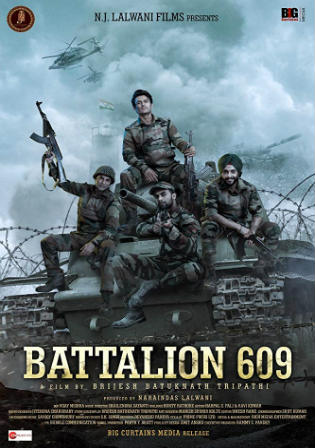 Battalion 609 (2019) Pre DVDRip 400Mb Full Hindi Movie Download 480p Watch Online Free bolly4u