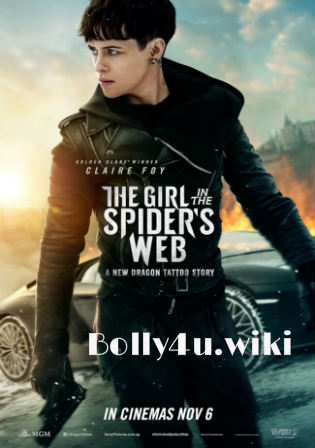 The Girl In The Spiders Web 2018 HDRip 900Mb Hindi Dual Audio 720p Watch Online Full Movie Download bolly4u