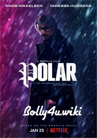 Polar 2019 WEBRip 950MB English 720p ESub