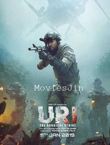 Uri The Surgical Strike 2019 Movie Pre DvDRip 300MB