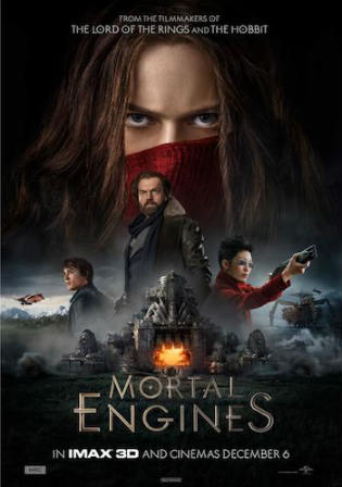 Mortal Engines 2018 HC HDRip 400MB Hindi Dual Audio 480p Watch Online Full Movie Download bolly4u