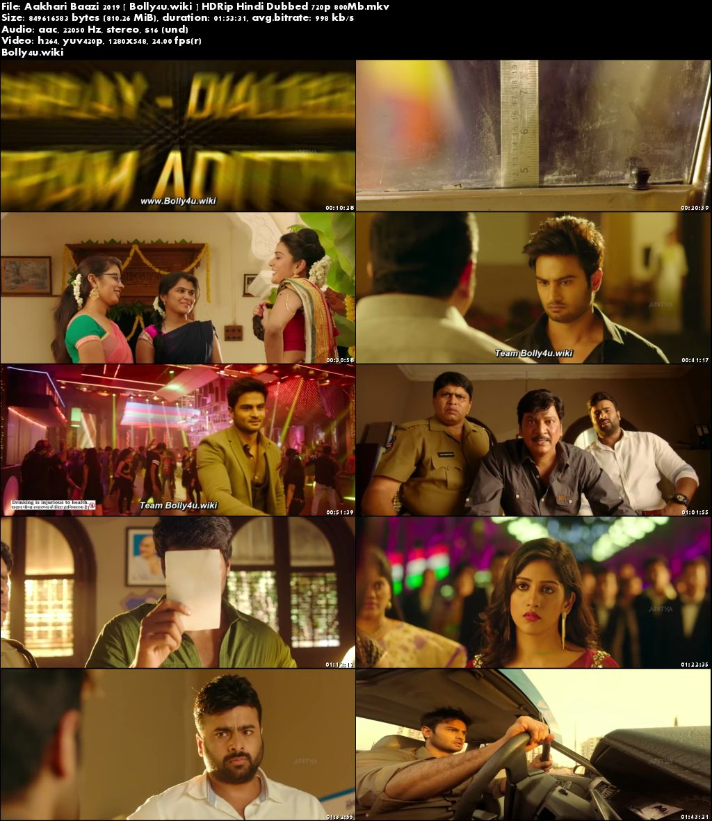 Aakhari Baazi 2019 HDRip 350MB Hindi Dubbed 480p Download