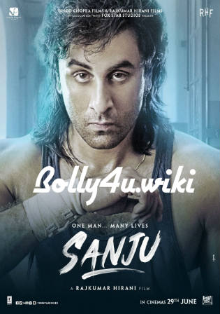 Sanju 2018 BluRay 1GB Full Hindi Movie Download 720p