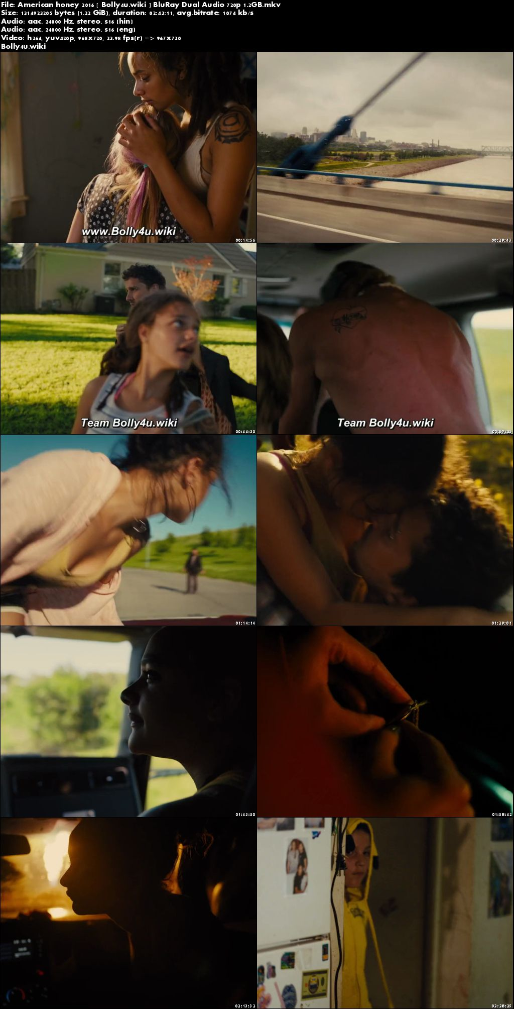 American Honey 2016 BluRay Hindi Dual Audio 720p Download