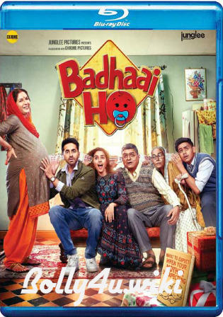 Badhaai Ho 2018 BluRay 900MB Full Hindi Movie Download 720p Watch Online Free Bolly4u