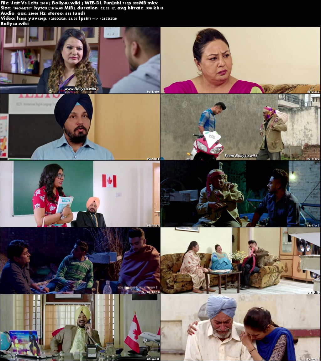 JATT vs IELTS 2018 WEB-DL 400MB Full Punjabi Movie Download 480p
