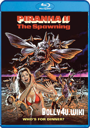Piranha II The Spawning 1981 BRRip 300MB UNRATED Hindi Dual Audio 480p Watch Online Full Movie Download bolly4u