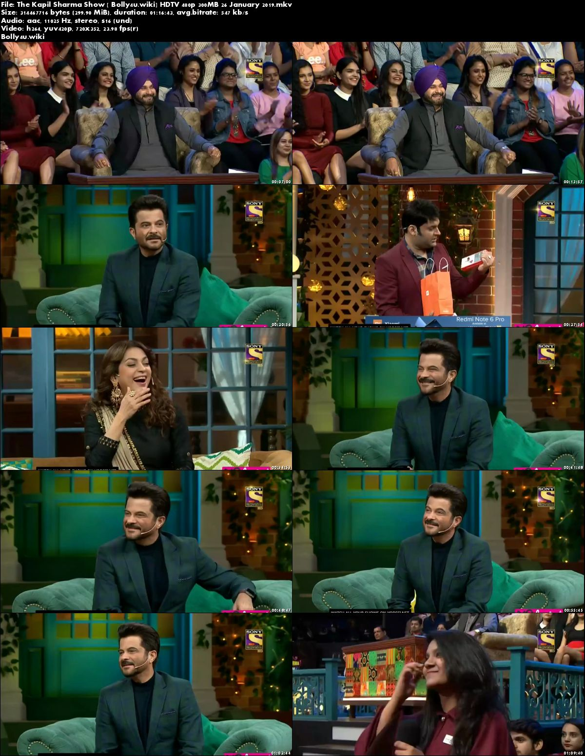 The Kapil Sharma Show HDTV 480p 300MB 27 January 2019 Download