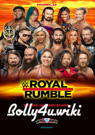 WWE Royal Rumble 2019 WEBRip 480p PPV 27 Jan 2019 Watch Online Free Download bolly4u