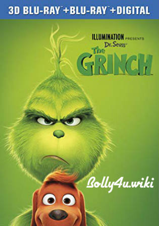 The Grinch 2018 BRRip 250MB English 480p ESub Watch Online Full Movie Download bolly4u