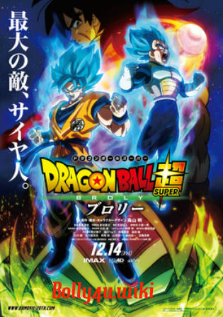 Dragon Ball Super Broly 2018 HDRip 850MB English 720p Watch Online Full Movie Download bolly4u