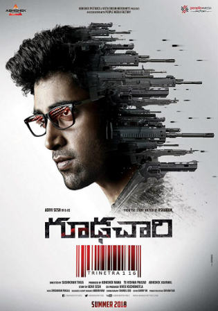 Goodachari 2018 HDRip UNCUT Hindi Dual Audio 720p