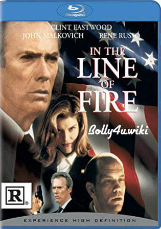In The Line Of Fire 1993 BluRay 400MB Hindi Dual Audio 480p Watch Online Full Movie Download bolly4u