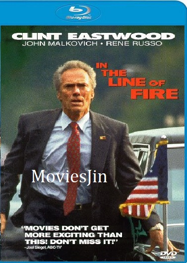 In The Line Of Fire 1993 BluRay Movie Hindi 1GB Dual Audio 720p