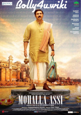 Mohalla Assi 2018 HDRip 350Mb Full Hindi Movie Download 480p Watch Online Free Bolly4u
