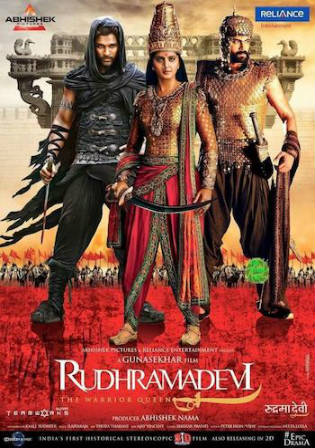 Rudhramadevi 2018 HDRip 1GB Hindi Dubbed 720p Watch Online Free Download Full Movie Bolly4u
