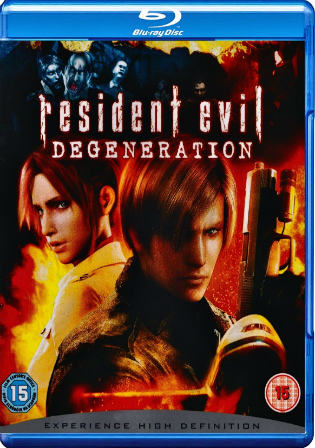Resident Evil Degeneration 2008 BRRip 300Mb Hindi Dual Audio 480p Watch Online Full Movie Download bolly4u