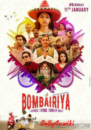 Bombariya 2019 Pre DVDRip 300MB Full Hindi Movie Download 480p Watch Online Free bolly4u