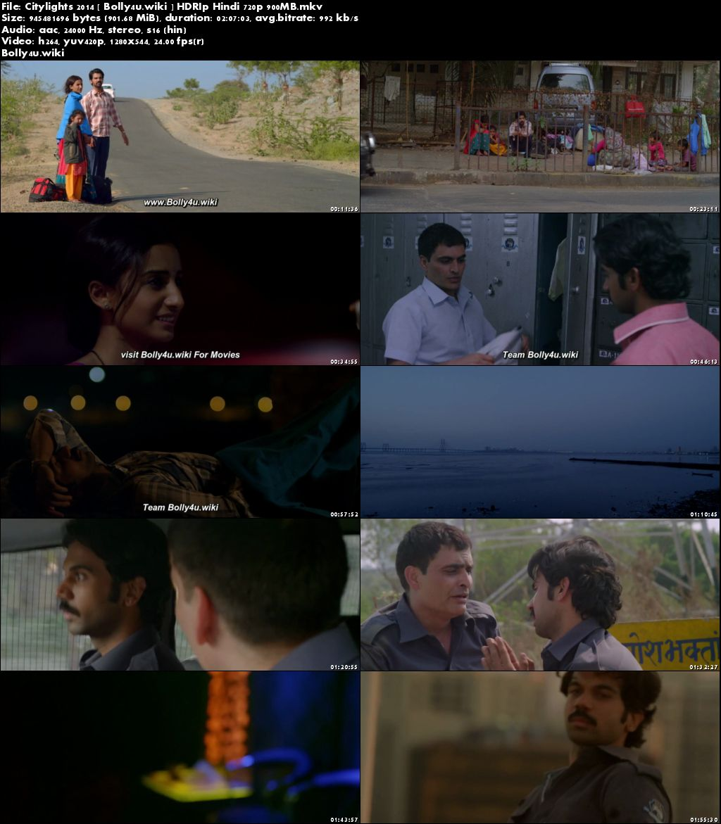 Citylights 2014 HDRip 350Mb Full Hindi Movie Download 480p