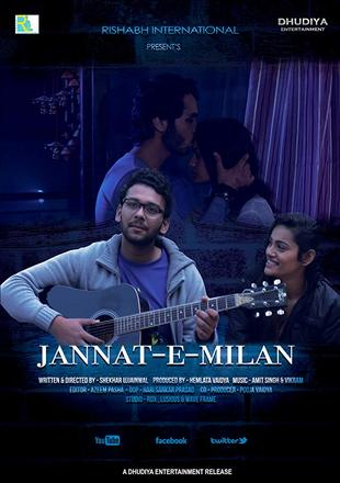 Jannat-e-Milan 2018 WEB-DL 350MB Full Hindi Movie Download 480p Watch Online Free Bolly4u