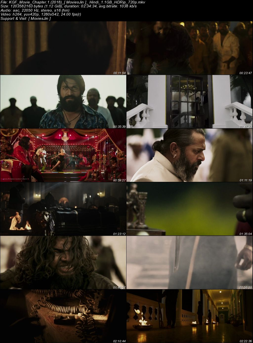 Watch Online KGF Chapter 1 2018 300MB Movie HDRip Hindi Dubbed 480p Full Movie Download 300mbMovies
