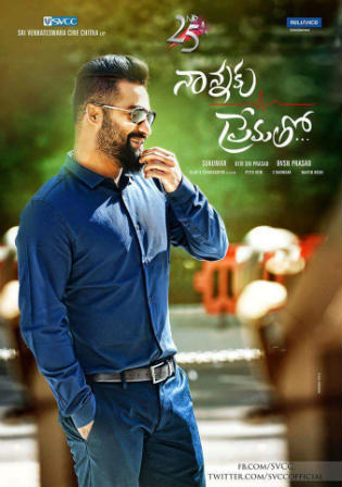 Nannaku Prematho 2016 HDRip 450Mb UNCUT Hindi Dual Audio 480p Watch Online Full Movie Download bolly4u