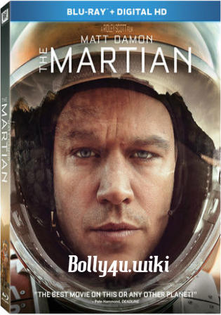The Martian 2015 BRRip 450Mb Extended Hindi Dual Audio 480p Watch Online Full Movie Download bolly4u
