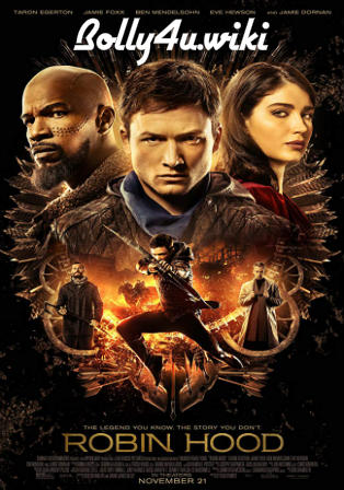 Robin Hood 2018 WEB-DL 950Mb English 720p ESub