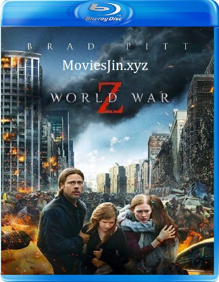 World War z 2013 300MB Movie Download Hindi BluRay Dual Audio 480p