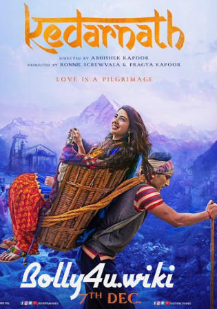 Kedarnath 2018 HDRip 350Mb Full Hindi Movie Download 480p Watch Online Free bolly4u