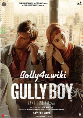 Gully Boy 2019 Pre DVDRip 700Mb Full Hindi Movie Download 720p Watch Online Free bolly4u