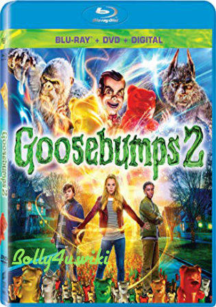 Goosebumps 2 Haunted Halloween 2018 BluRay 300MB Hindi Dual Audio ORG 480p