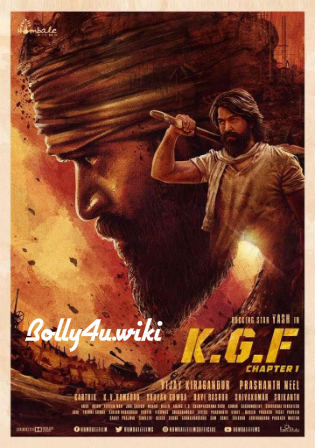 K.G.F Chapter 1 2018 HDRip 450MB Hindi ORG 480p ESub