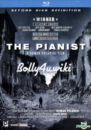 The Pianist 2002 BRRip 450MB Hindi Dual Audio 480p