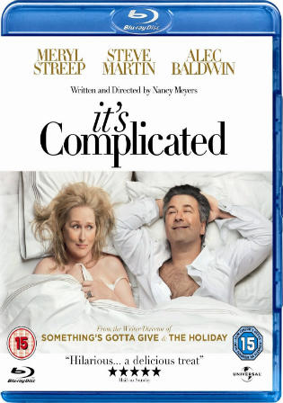 Its Complicated 2009 BRRip 350MB Hindi Dual Audio 480p