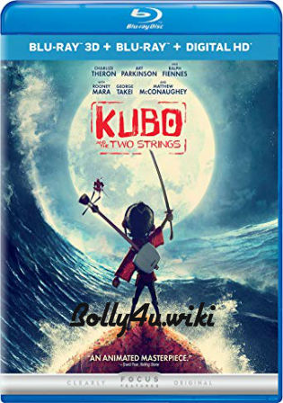 Kubo And The Two Strings 2016 BluRay 300MB Dual Audio ORG 480p