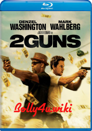 2 Guns 2013 BRRip 350Mb Hindi Dual Audio 480p